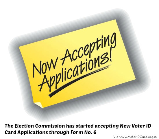 The Election Commission website is now accepting new voter id card applications in Kanpur.