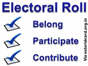 things you must know about electoral roll