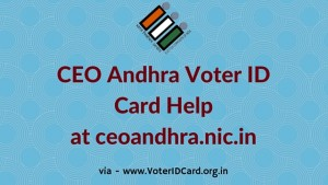 ceo andhra status and other voter id services