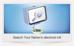 how to check name in the voters' list