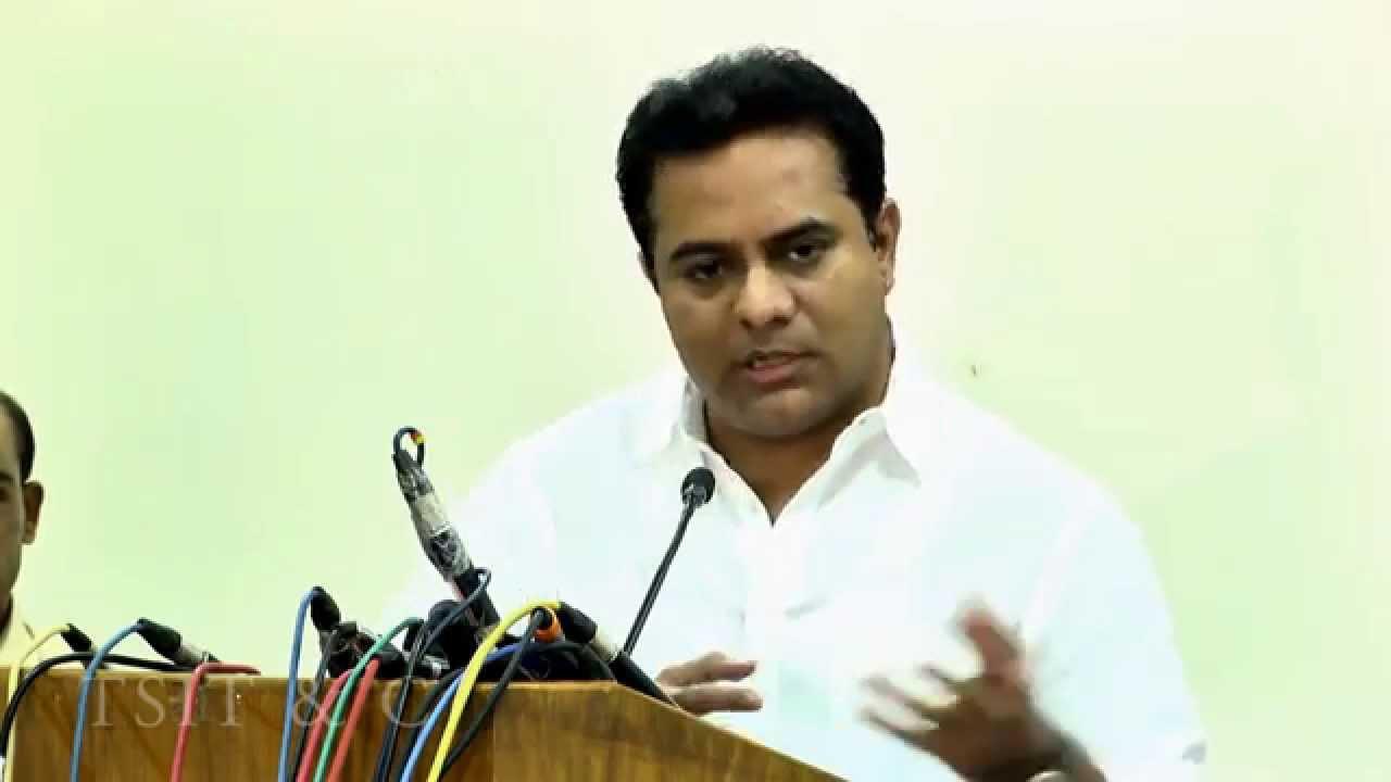 Telangana CM KCR's son KTR