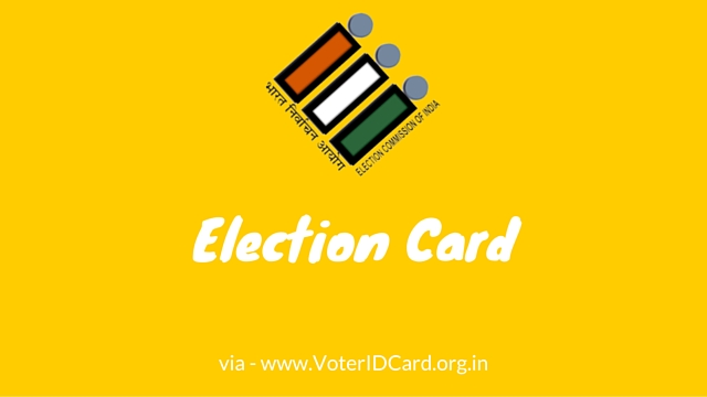 election card queries and answers solved
