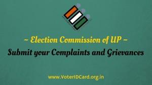 election commission of UP complaints