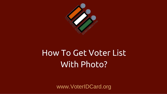 Download Voter List with Photo - Featured Image