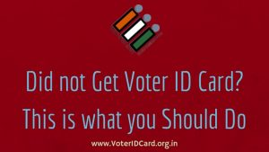 Get Voter ID Card